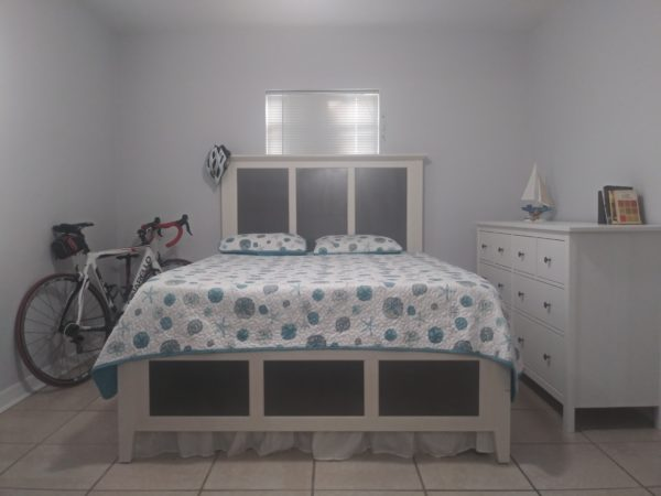 Bedroom Setting. Bed Down. Bed Frame For Display Purpose.